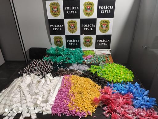 """4º DP DO ZAÍRA FAZ APREENSÃO DE DROGAS E PRENDE TRAFICANTE CONHECIDO COMO """"GORDÃO""""."""