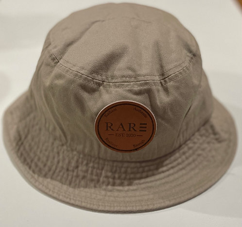 R.A.R.E Khaki Unisex Sportsman Bucket Cap