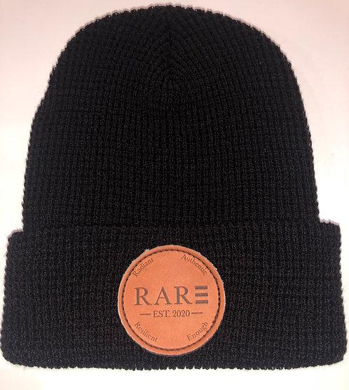 R.A.R.E Black Beanie