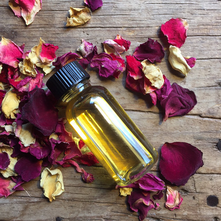 Essential oils and grief