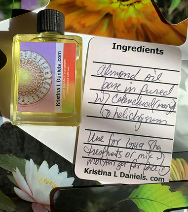 Serums are custom blended