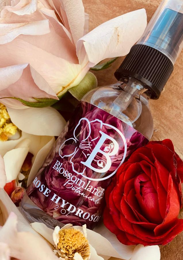 Rose hydrosol for skin