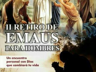 2do Retiro de Emaús para Hombres - Parroquia Santa María del Camino