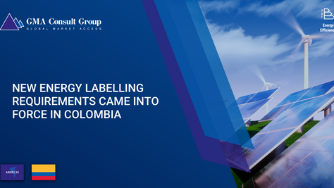 New Energy Labelling Requirements Came into Force in Colombia