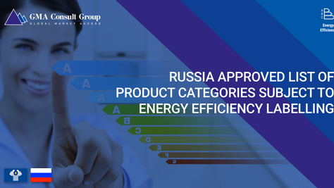 Russia Approves Product Categories Subject to Energy Efficiency Labelling