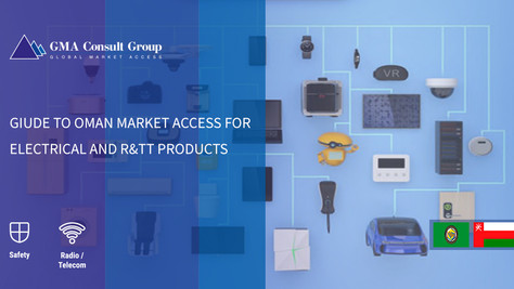 Giude to Oman Market Access for Electrical and R&TT Products