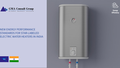 New Energy Performance Standards for Star Labeled Electric Water Heaters in India