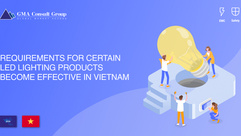 Requirements for Certain LED Lighting Products Become Effective in Vietnam