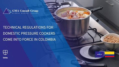 Technical Regulations for Domestic Pressure Cookers Come into Force in Colombia
