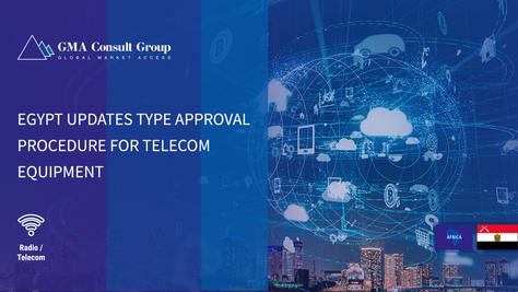Egypt Updates Type Approval Procedure for Telecom Equipment