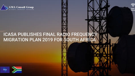 ICASA PublishesFinal Radio Frequency Migration Plan 2019 forSouth Africa