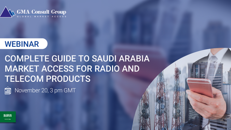 WEBINAR: Complete Guide to Saudi Arabia Market Access for Radio & Telecom Products