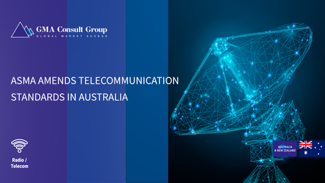 ASMA Amends Telecommunication Standards in Australia
