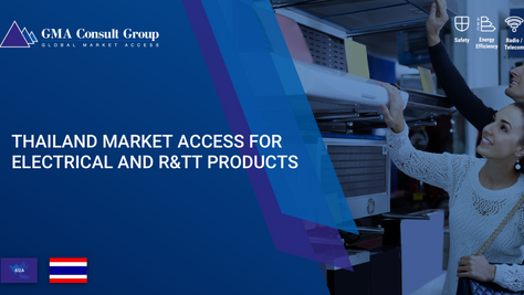 Thailand Market Access for Electrical and R&TT Products