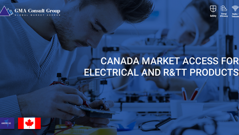 Canada Market Access for Electrical and R&TT Products