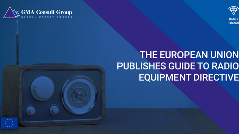 The European Union Publishes Guide to Radio Equipment Directive