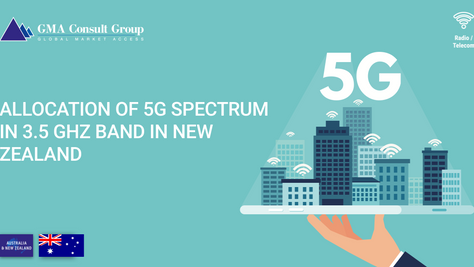 Allocation of 5G Spectrum in 3.5 GHz Band in New Zealand