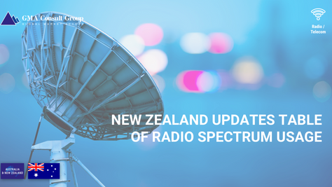 New Zealand Updates Table of Radio Spectrum Usage