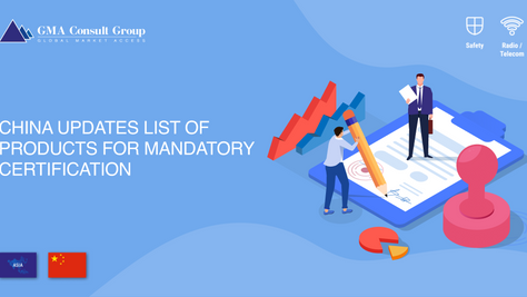 China Updates List of Products for Mandatory Certification