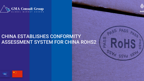 China Establishes Conformity Assessment System for China RoHS2