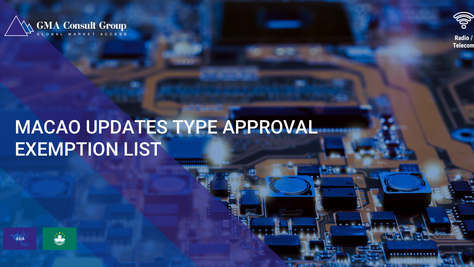 Macao Updates Type Approval Exemption List