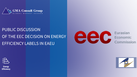 Public Discussion of the EEC Decision on Energy Efficiency Labels in EAEU