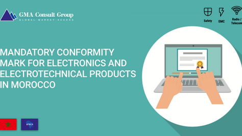 Mandatory Conformity Mark for Electronics and Electrotechnical Products in Morocco