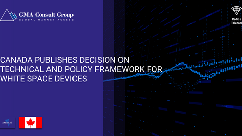 Canada Publishes Decision on Technical and Policy Framework for White Space Devices