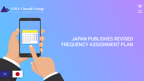 Japan Publishes Revised Frequency Assignment Plan