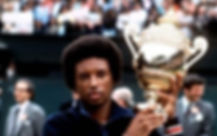 arthur ashe, world tennis champion