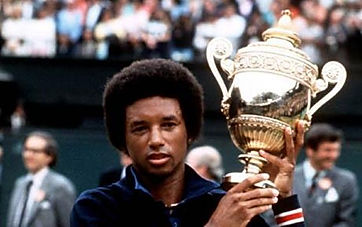 arthur ashe, world tennis champion