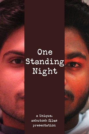 One standing night