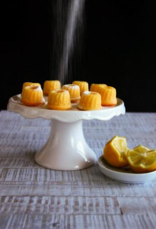 Köstliche Zitronenminigugls
