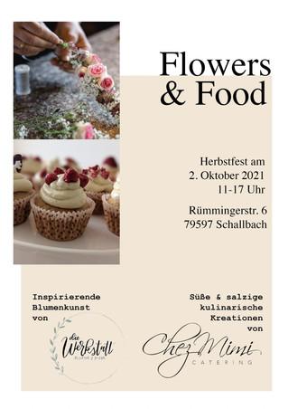 Herbstfest mit Chez Mimi Catering und Becca`s Werkstatt am 2. Oktober