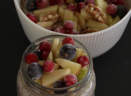 Herbstlicher Porridge