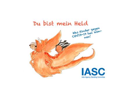 Kids German story book on COVID-19