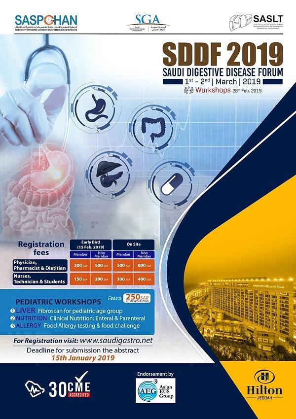 Saudi Association for the Study of Liver Disease and Transplantation SASLT SDDF2019