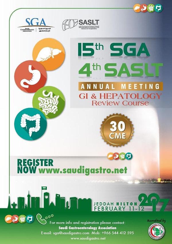 Saudi Association for the Study of Liver Disease and Transplantation SASLT SDDF2017