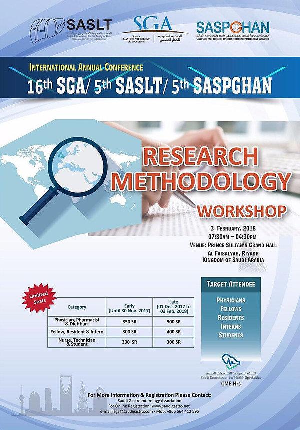 Saudi Association for the Study of Liver Disease and Transplantation SASLT SDDF2018