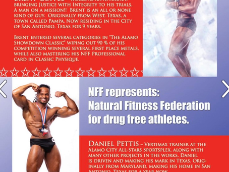 Introducing the New NFF Professionals with SA Monthly Magazine Fitness Edition        June 2020