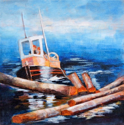 Boom Boat-Jordan River
