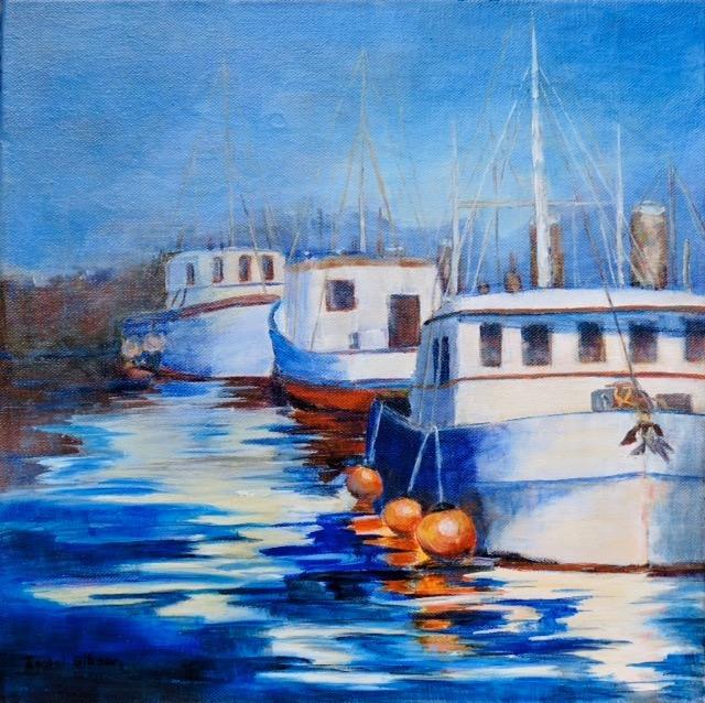 Fishing Boats-Sooke Harbour