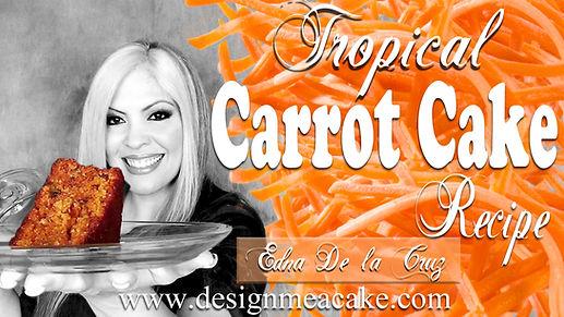 Carrot Cake Recipe Tutorial
