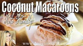 Coconut Macaroons Keto Style