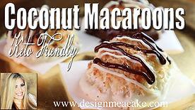 Keto Coconut Macaroons
