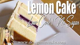 Keto Lemon Cake Recipe