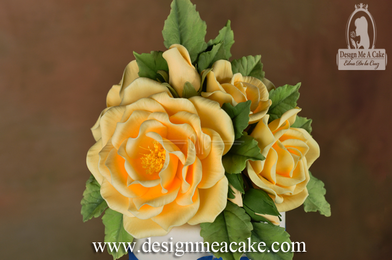 Yellow Sugar Roses