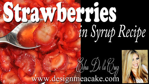 Strawberries in Syrup Recipe