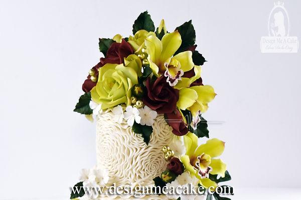 Rossette Cake Design