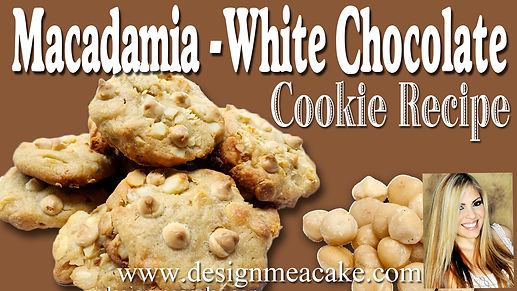 Macadamia & White Chocolate Cookie